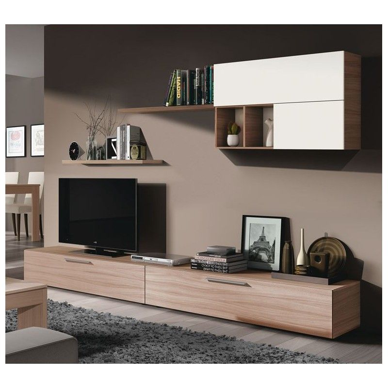 016683w salon tv ambar colecci n mueble kit - Mueble salon tv ...