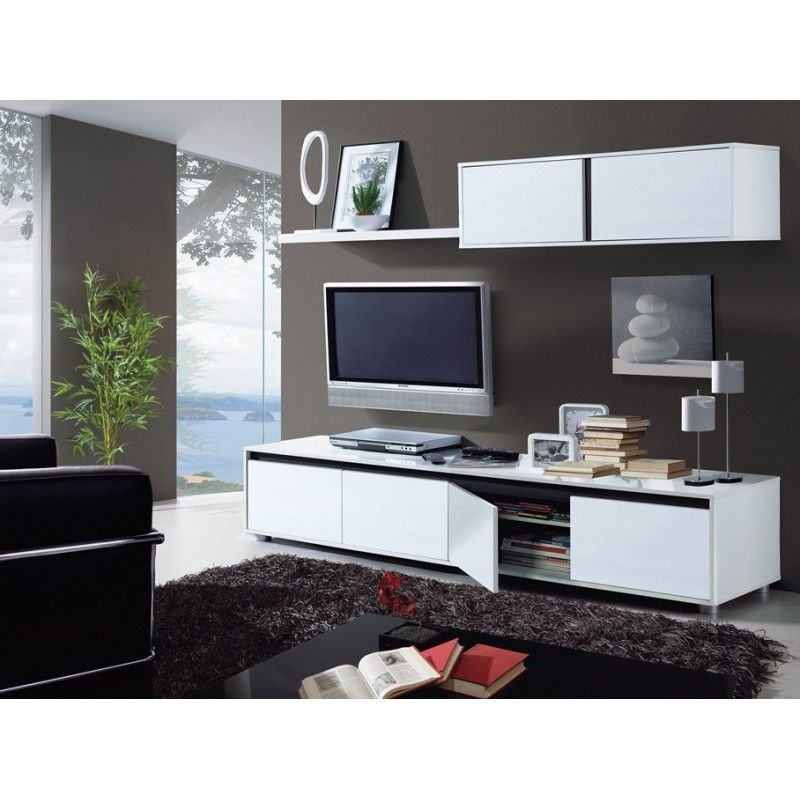 Sal n tv modelo home colecci n mueble kit - Mueble salon tv ...